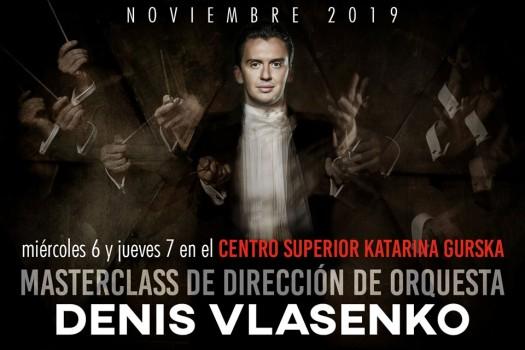 (FINALIZADA) Masterclass Dirección de Orquesta – Denis Vlasenko