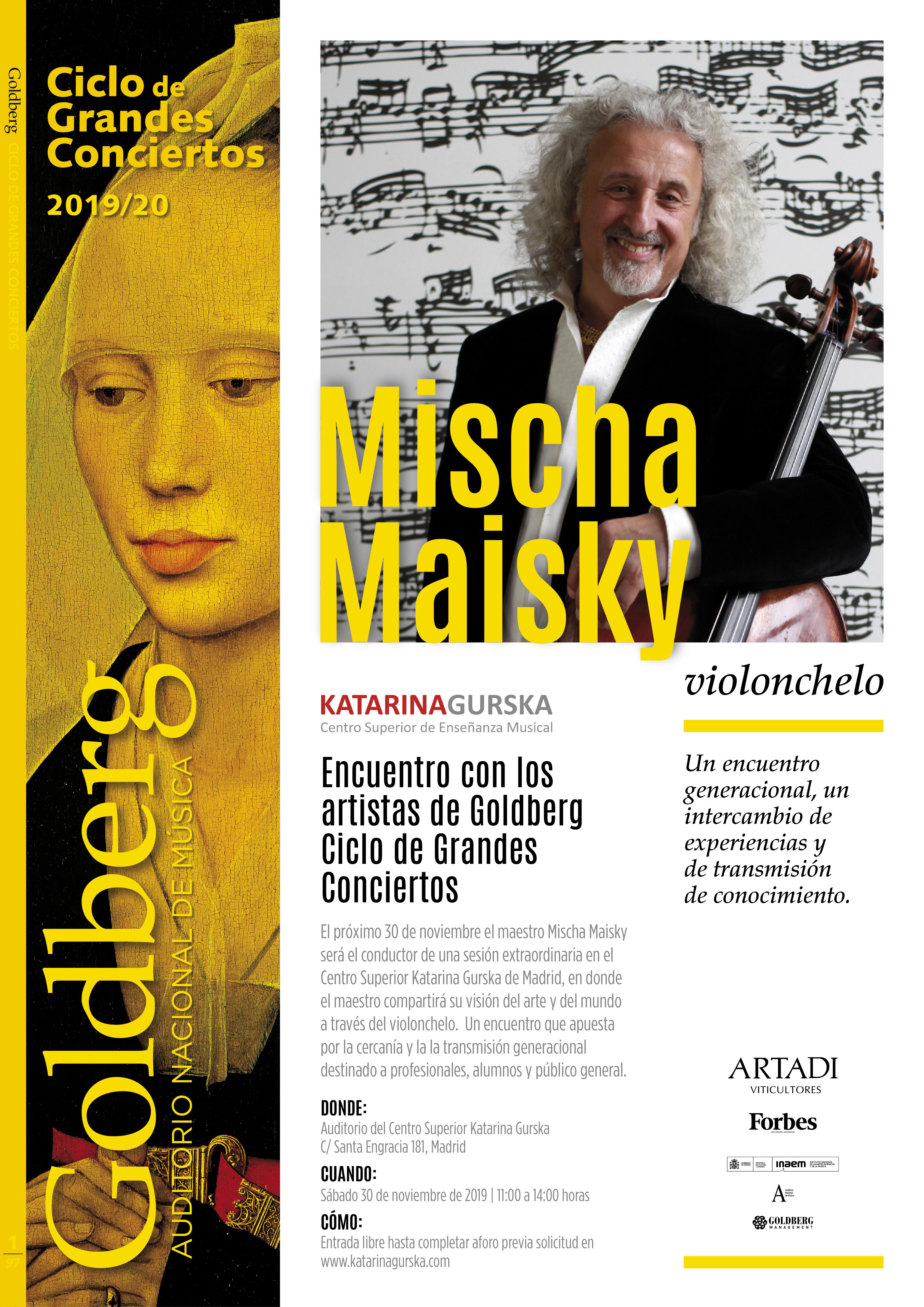 Encuentro con Mischa Maisky