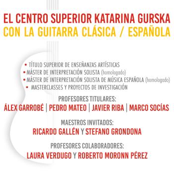 EL CSKG CON LA GUITARRA CLÁSICA Y ESPAÑOLA