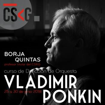 Curso de Dirección de Orquesta – Vladimir Ponkin