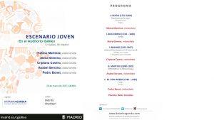 Actividad Cultural - 28 marz Auditorio Galileo