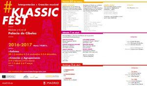 Novedad educativa - programa KlassicFest abril