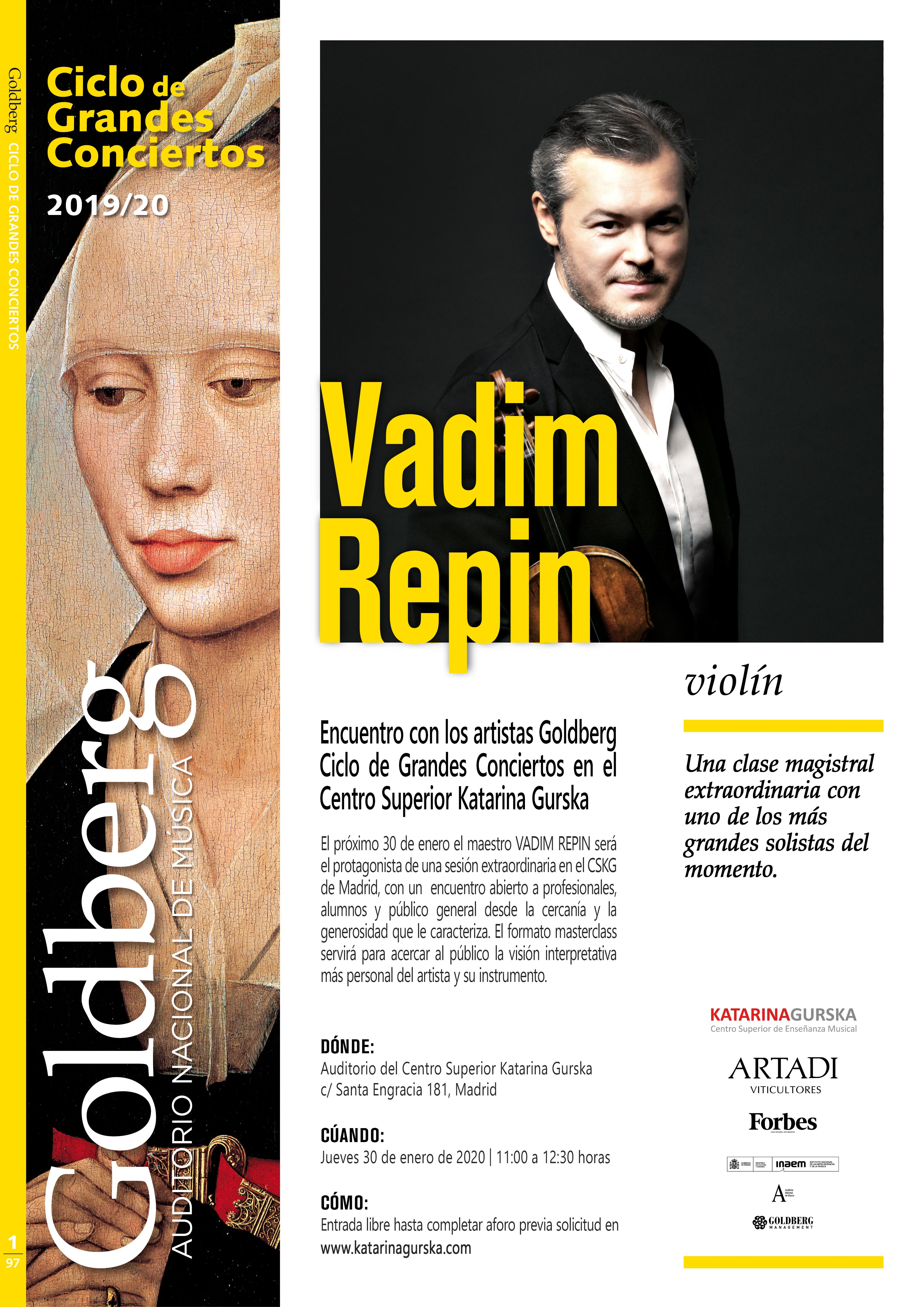 Encuentro con Vadim Repin