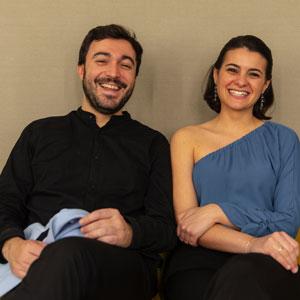 Pedro Pablo Cámara y Karla Martínez